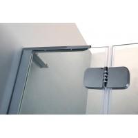 BENITA душевая кабина квадратная 90*90*195 см, поддон (PUF) 5 см (с сифоном), распашная, профиль хром, стекло прозрачное, 10-22-905