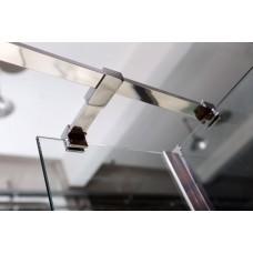 Держатель стекла VOLLE (F) с креплениями длиной 1000 мм, 18-05F-100