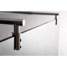 Держатель стекла VOLLE регулируемый с креплениями длиной 750-1200 мм, 18-05-75120