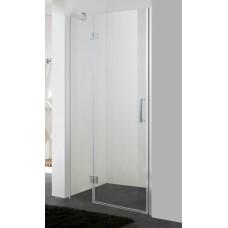 Душевая дверь EGER 100*195, профиль хром, стекло прозрачное, 599-701(h)