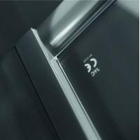 Душевая дверь AQUAFORM Nigra 103-40081 графитовая