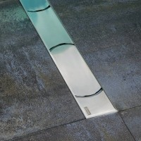 Душевой канал Ravak CHROME 300, нержавеющая сталь
