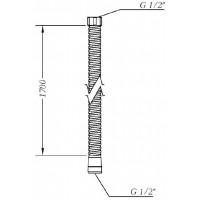 Душевой шланг GENEBRE 1.7 (100135 60 00)