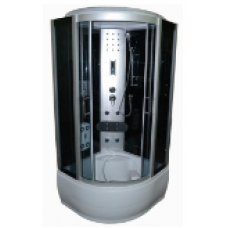 Гидробокс  VIVIA Ecobox  ECO 265 CH  c электроникой на глубоком  поддоне 90x90 см
