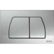 Кнопка NOVA 7315 для инсталляции серая
