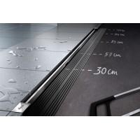 Комплект душевого канала : лоток Advantix Vario дизайн- вставка Visign SR2 глянцевая