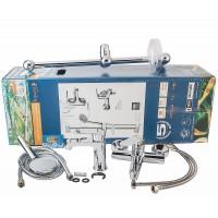 Комплект смесителей для ванны/душа LESNA (05070/10070/5810001)