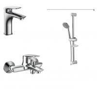 Комплект смесителей для ванны/душа Praha new (05030 new/10030 new/R670SD)