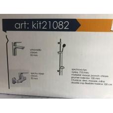 Комплект смесителей Imprese  ( 3 in 1 )  KIT  21082 для душа