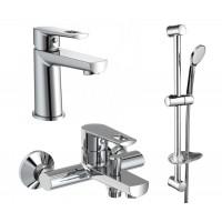 Комплект смесителей VOLLE Benita  ( 3 in 1 )  для ванны (15171100+15172100+15147100)