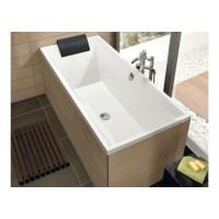 Квариловая прямоугольная ванна  Squaro 1700x750 BQ170SQR2V-01