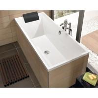 Квариловая прямоугольная ванна Villeroy & Boch Squaro Slimline 180х80 см UBQ180SQS2V-01