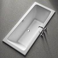 MODO прямоугольная ванна, 180*80 см, центральный слив, с ножками