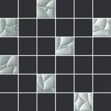 Мозаика Paradyz Esten grafit/silver 29,8x29,8 PRZ17010