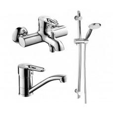 Набор смесителей для ванны  Armatura Bazalt (4701-001-00)