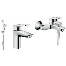 Набор смесителей HANSGROHE для ванны Logis Loop 1062017 (71151000+71244000+27353400)