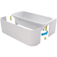 Панели фронтальная и боковые ( 3 шт ) для ванны Excellent Arana 180 см, OBEX.AR2.18WH