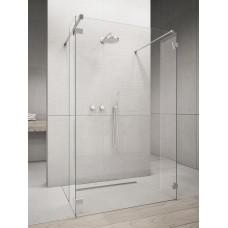 Перегородка для душа RADAWAY Walk-in Euphoria I (115,5), прозрачная, безопасное стекло, 383144-01-01 + 383160-01-01 + 383160-01-01