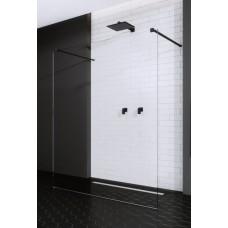 Перегородка для душа RADAWAY Walk-in Modo New Black I, прозрачная, безопасное стекло, 388124-54-01