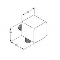 Шланговое соединение Kludi A-QA 6554305-00 с ограничителем