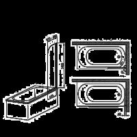 Шторы для ванны Aquaform  LUGANO 1  170-07000M
