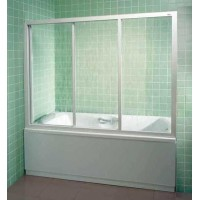 Шторы для ванны Ravak AVDP3 - 150 GRAPE белый профиль