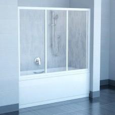 Шторы для ванны Ravak AVDP3 - 140 GRAPE белый профиль