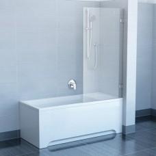 Шторы для ванны Ravak BVS1 - 80 TRANSPARENT хром