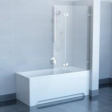 Шторы для ванны Ravak BVS2 - 100 L TRANSPARENT хром