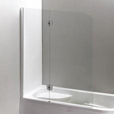 Шторка на ванну EGER  120*150 см, левая, цвет профиля хром, 599-120CH/L