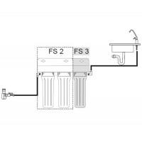 Система очистки воды 3-х ступенчатый  USTM