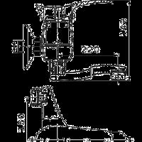 Смеситель  Ferro Padwa BTP 5для кухни / ванны стеновой