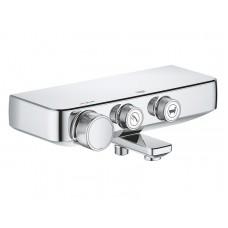 Смеситель-термостат для ванны и душа Grohe Grohtherm SmartControl, 34718000