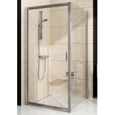 Стенка для душевой кабинки Ravak BLIX BLPS - 100 Grape, полированный алюминий, стекло