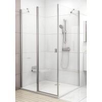 Стенка для душевой кабинки Ravak CHROME CPS - 100 Transparent, полированный алюминий, стекло