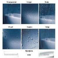 Стенка для душевой кабинки Ravak CHROME CPS - 100 Transparent, профиль сатин, стекло