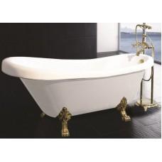 Ванна акриловая APPOLLO ТS-1705 отдельно стоящая на бронзовых львиных лапах 1730*800*840 мм