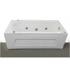 Ванна APPOLLO AT-1701Q прямоугольная с гидромассажем и пневмокнопкой 1700*750*550 мм