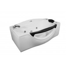 Ванна APPOLLO прямоугольная с гидромассажем  пневмокнопкой и окошком 1800*990*680 мм, АT-932