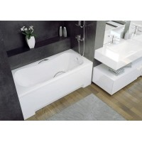 Комплект панелей: лицевая и торцевая для прямоугольной ванны Besco PMD Piramida ARIA 140х70