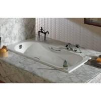 Ванна чугунная Roca MALIBU 160 x 75 с ручками, без ножек (23107000R)