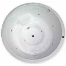 Ванна круглая Bisante SOLEIL 185*185 см, SL185