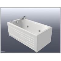 Ванна  прямоугольная Bisante НИКА 120*70, NK120