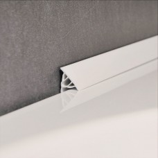 Декоративная планка для ванны 10 мм / 1,1 м, белая