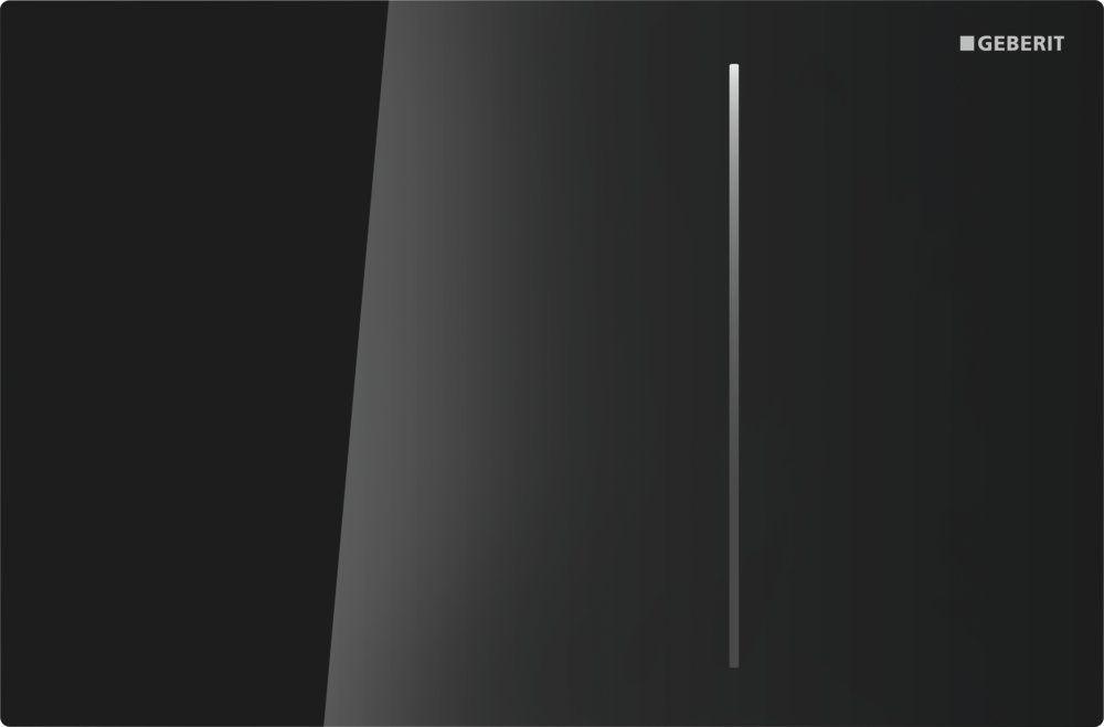 d45b1ad106fe0 Кнопка смыва Geberit SIGMA 70, для Sigma бачков 8 см, двойной смыв, стекло  черное