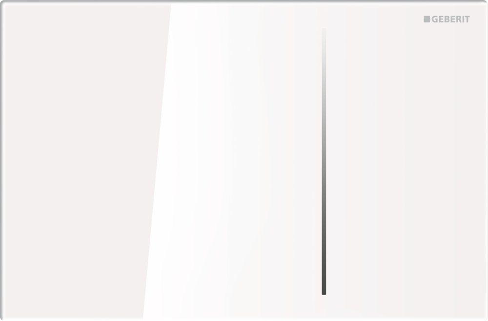 8d21b928d12be Кнопка смыва Geberit SIGMA 70, для Sigma бачков 8 см, двойной смыв, стекло  белое